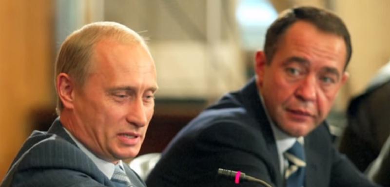 Vladimir Putin i Mihail Lesin