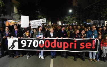 """Sa protesta """"Odupri se 97000"""""""