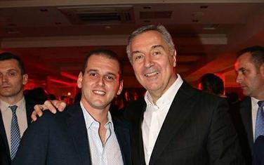 Janković i predsjednik DPS-a, Milo Đukanović
