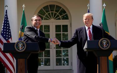 Bolsonaro i Tramp