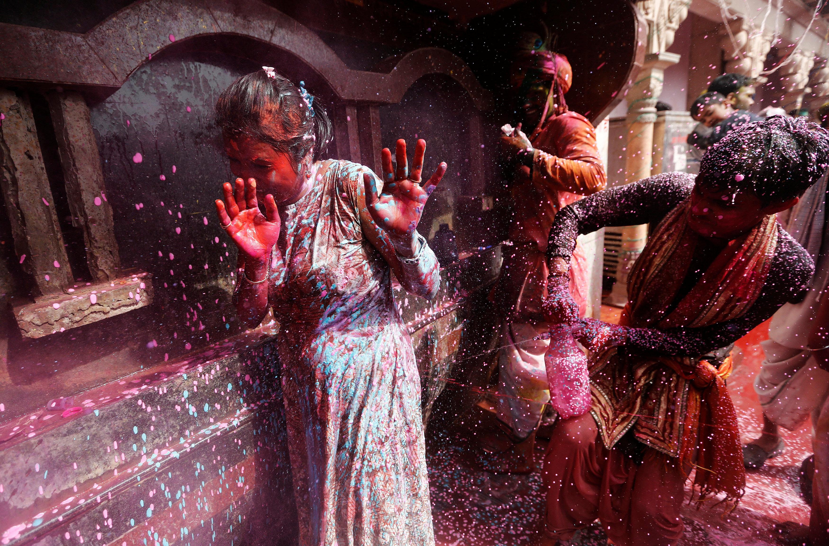 Sa festivala u Indiji (foto: Reuters)