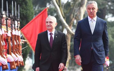 Meta tokom posjete Crnoj Gori sa Đukanovićem