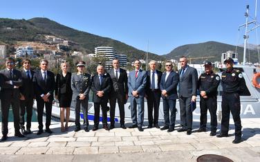 Delegacije crnogorske i italijanske policije