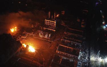 Sa mjesta eksplozije