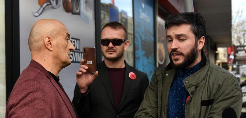 Popović nije htio da se legitimiše: Hodžić