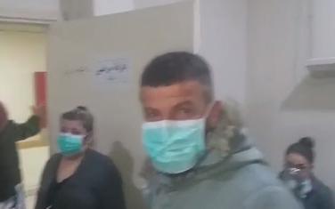 Detalj iz bolnice u Hami