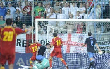 Delibašić daje gol vrijedan baraža za Euro (2:2, oktobar 2011)