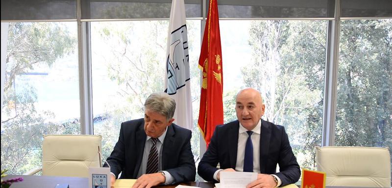 Potpisivanje ugovora: Ivanović i Nurković