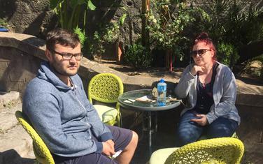 Prijatelji im sugerisali da hitno napuste Crnu Goru: Sigalov sa djevojkom