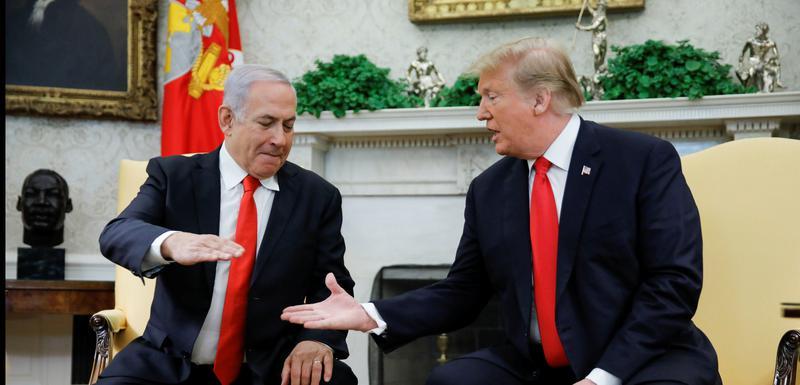 Netanjahu sa Trampom u Vašingtonu