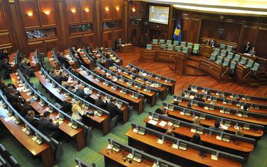 Sa vanredne sjednice parlamenta 22. marta