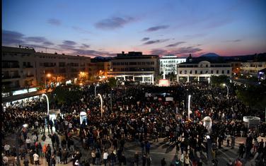 Sa protesta u Podgorici