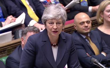 Mej u britanskom parlamentu