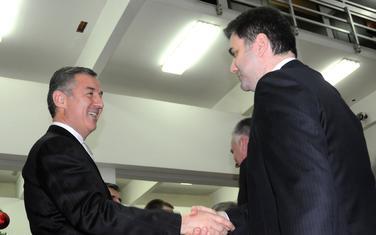 Po drugi put ga savjetuje: Đukanović i Ivanović