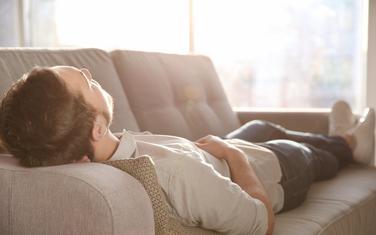 ležanje, odmaranje