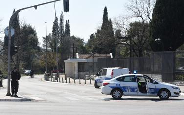 Pojačano obezbjđenje ispred ambasade SAD