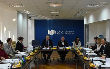 Sa ranije sjednice Upravnog odbora UCG