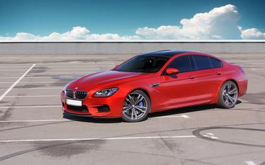 BMW M6 (Ilustracija)