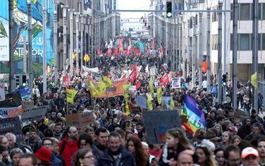 Protesti u Briselu