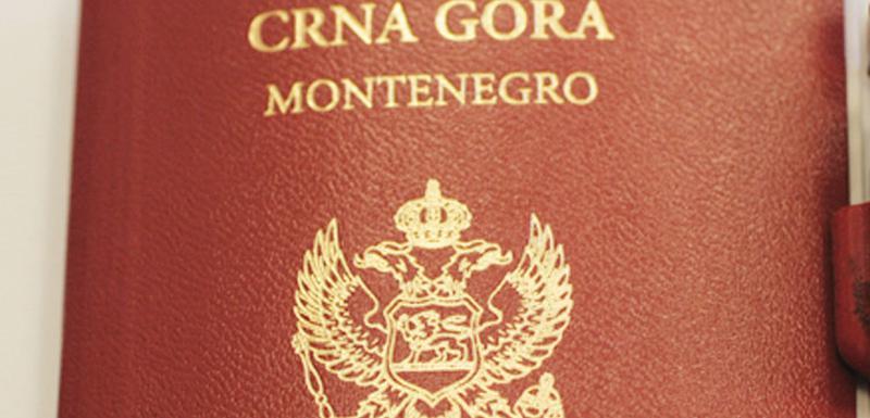 Crnogorski pasoš