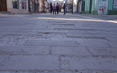 Njegoševa ulica na Cetinju