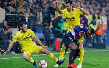 Sa utakmice Viljareal - Barselona