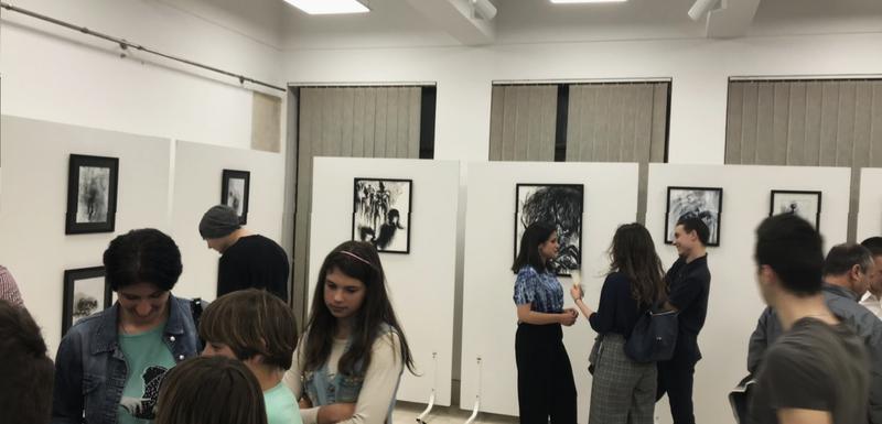 Sa otvaranja izložbe Ivane Mašanović
