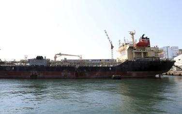 Zadržani brod u južnokorejskoj luci