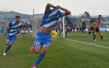 Božo Marković slavi gol za 2:2