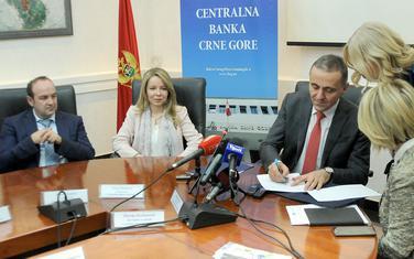 Bilo profesionalnih neslaganja oko standarda i kontrole banaka: Fabris, Radovićeva i Žugić