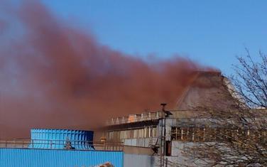 Crveni dim kuljao iz Željezare