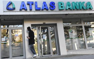 Atlas banka (ilustracija)