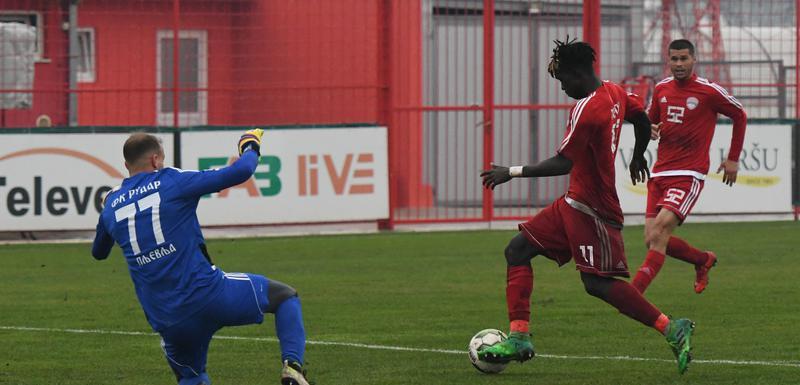 Gol za Evropu: Mamadu Mendi (OFK Titograd)
