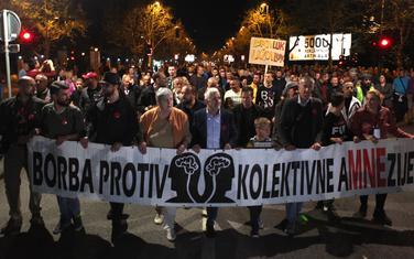 Treba tražiti i podršku Brisela: Sa protestne šetnje u Podgorici