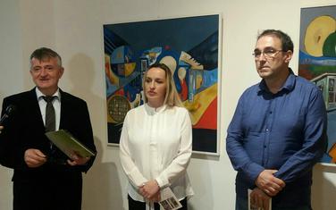 Sa otvaranja izložbe Anele Nurković Kulenović