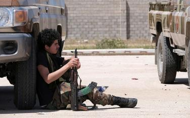Jedan od pripadnika Haftarove armije