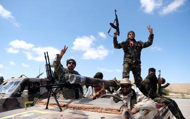 Pripadnici armije Halife Haftara