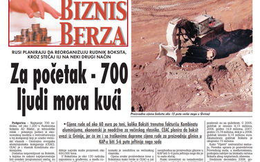 """""""Vijesti"""", 9. april 2009."""