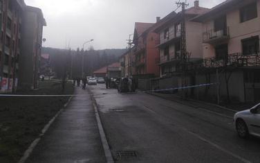 Vozilo bilo parkirano ispred Drobnjakove kuće u Ulici Marka Miljanov