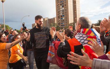 Bojan Dubljević sa navijačima Valensije