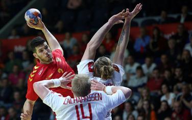 Sa utakmice Crna Gora - Danska
