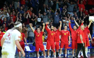 Crnogorski rukometaši slave gol protiv Danske
