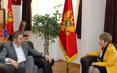 Šehović sa ambasadorkom Bugarske