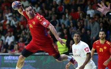 Stevan Vujović na prvoj utakmici sa Danskom