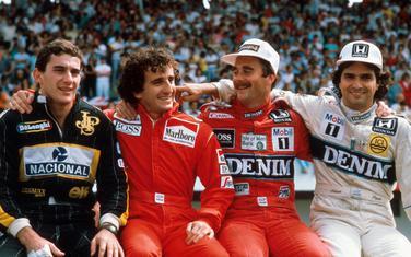 Legende Formule 1: Sena, Prost, Mensel i Pike