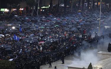 Protest u Tirani