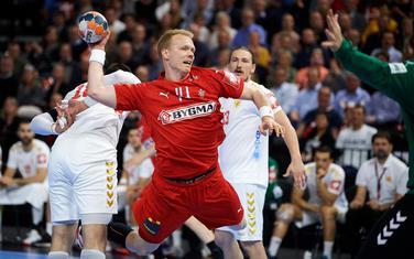 Sa meča Danska - Crna Gora