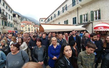 protest u Kotoru