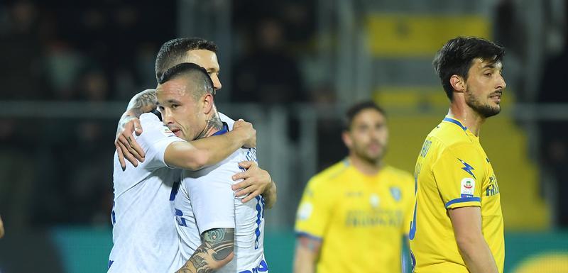 Perišić i Naingolan slave gol za 2:0