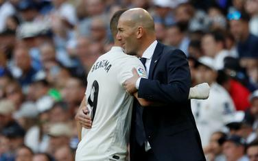 Karim Benzema i Zinedin Zidan